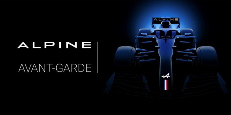 F1 Formula 1 Renault Lotus Alpine electric sports car