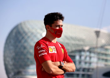 F1 Formula 1 Charles Leclerc Ferrari covid Coronavirus