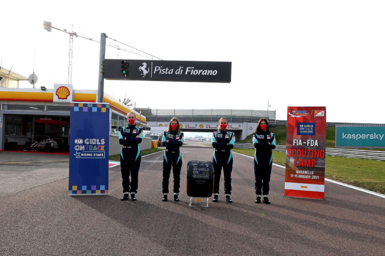 F1 Formula 1 Ferrari Driver Academy Women in Motorsport