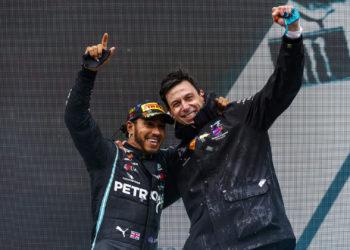 F1 Formula 1 Toto Wolff Mercedes Lewis Hamilton