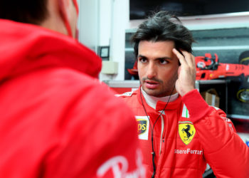 F1 Formula 1 Ferrari Driver Academy Carlos Sainz test Fiorano