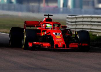 F1 Formula 1 Mick Schumacher Ferrari test Fiorano