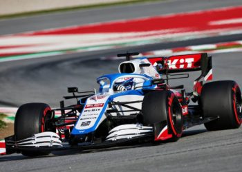 F1 Formula 1 Williams 2021 FW43B Nicholas Latifi George Russell