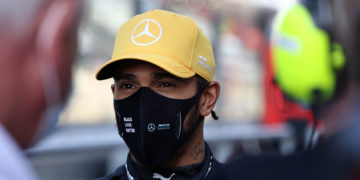F1 Formula 1 Lewis Hamilton Mercedes contract 2021
