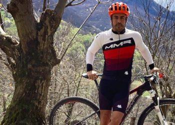 F1 Formula 1 Fernando Alonso cycling accident Switzerland