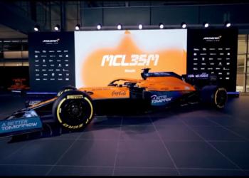 F1 Formula 1 McLaren MCL35M pictures