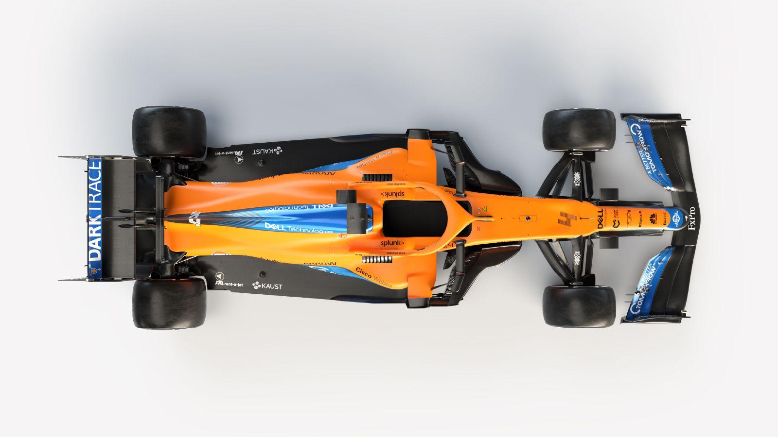 F1 Formula 1 McLaren Mercedes MCL35M