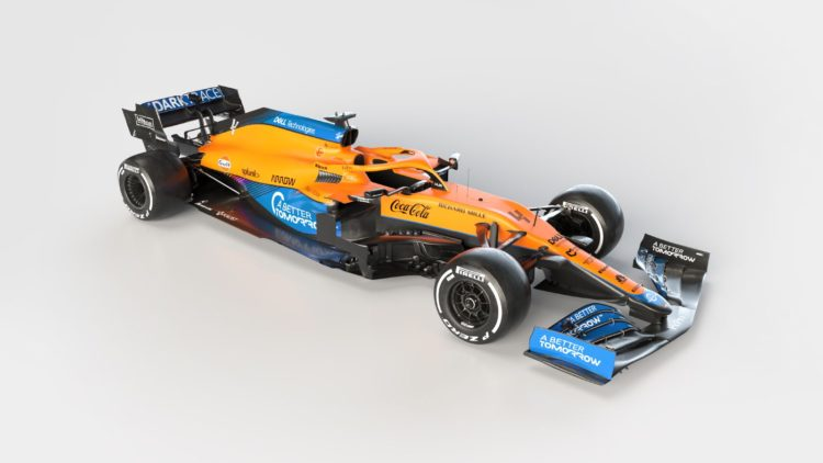 First Pictures: McLaren's 2021 MCL35M