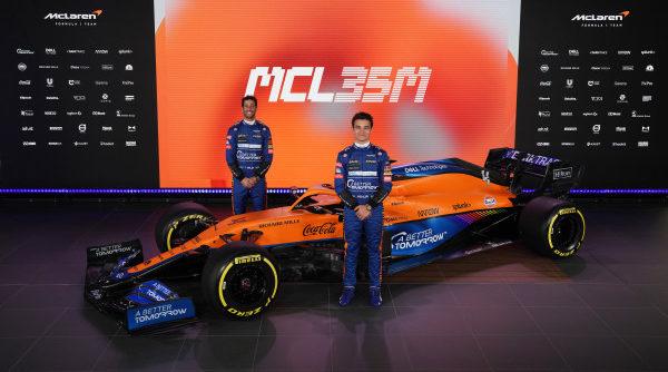 F1 Formula 1 McLaren Mercedes MCL35M Ricciardo
