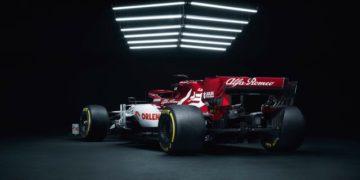 F1 Formula 1 Alfa Romeo Kimi Raikkonen C41 car launch
