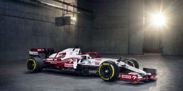 F1 Formula 1 2021 Alfa Romeo C41