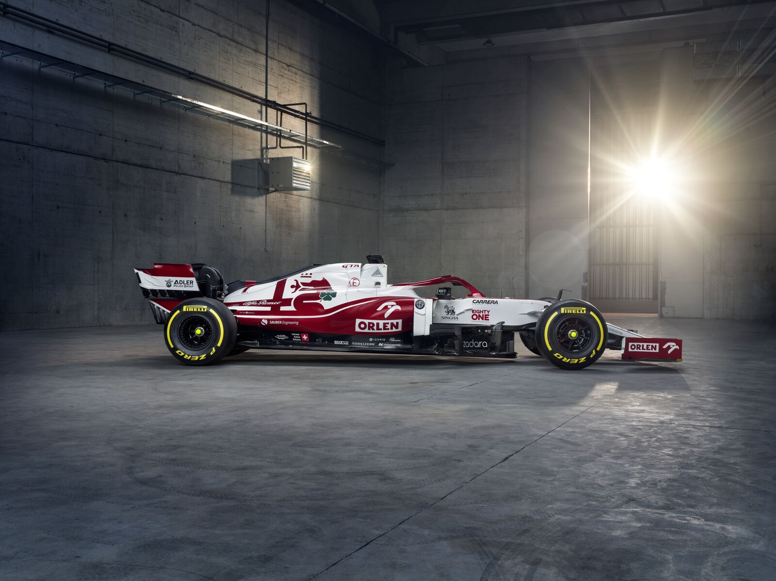 Jan Monchaux F1 Formula 1 Alfa Romeo C41 2021 car Kimi Raikkonen Antonio Giovinazzi