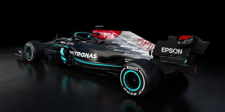 F1 Formula 1 Mercedes W12 launch