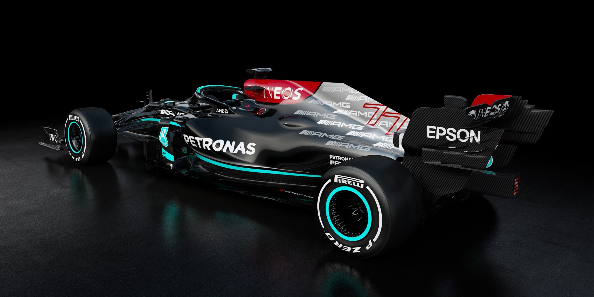 F1 Formula 1 Mercedes W12 launch