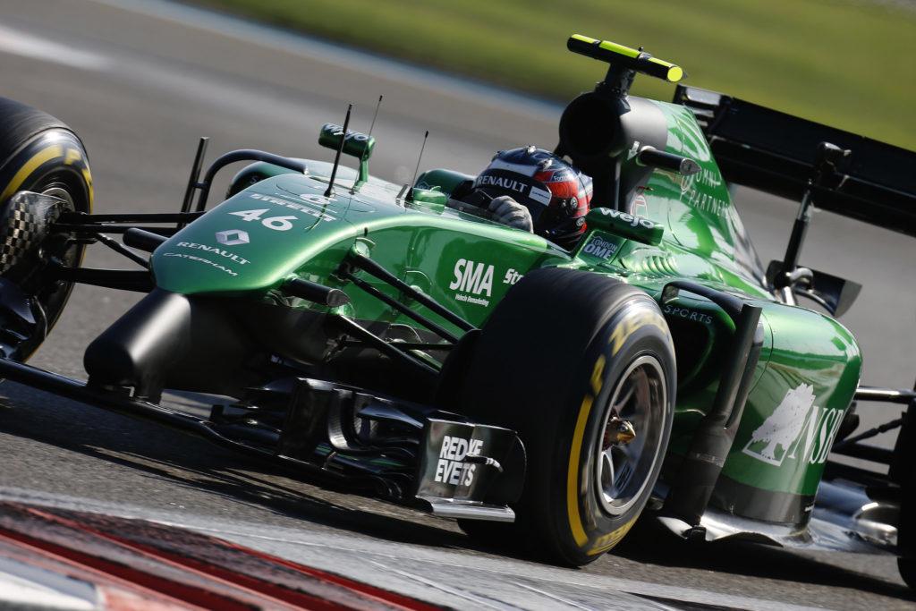 F1 Formula 1 Caterham Finbarr O'Connell