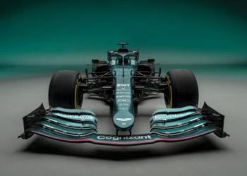 F1 Formula 1 Aston Martin AMR21 car launch 2021