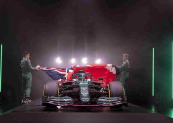 F1 Formula 1 Aston Martin car launch filming day Silverstone