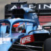 F1 Formula 1 Alpine Esteban Ocon filming day shakedown Silverstone