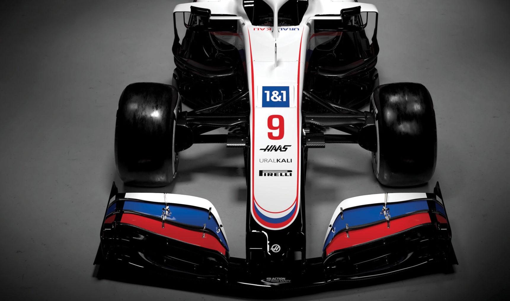 F1 Formula 1 Haas 2021 livery Uralkali