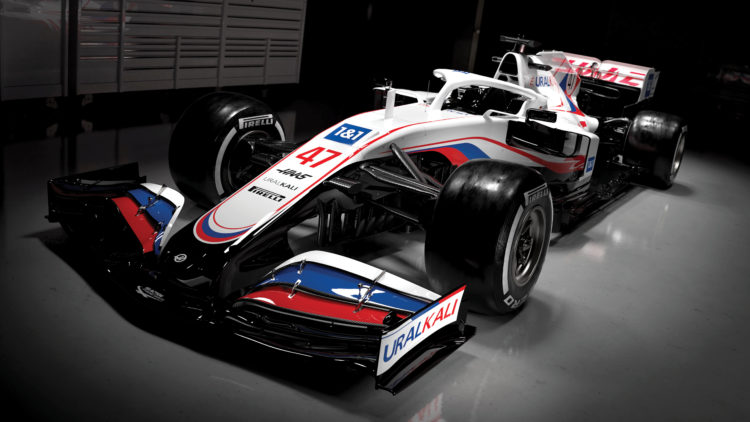 F1 Formula 1 Haas Uralkali 2021 VF21