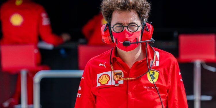 F1 Formula 1 Ferrari Mattia Binotto Josef Kral