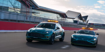 F1 shows off new Safety Cars, including Aston Martin's DBX & Vantage