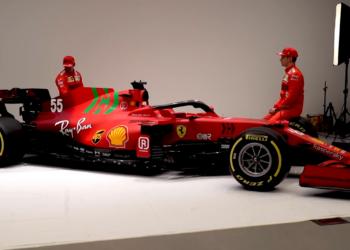 F1 Formula 1 Ferrari engine power unit Enrico Cardile SF21