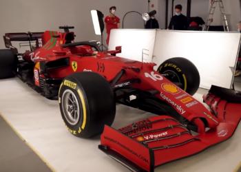 F1 Formula 1 Ferrari chassis SF21 Enrico Cardile