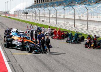 F1 Formula 1 Honda driver schedule testing Bahrain