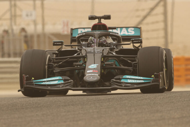F1 Formula 1 Mercedes Lewis Hamilton Valtteri Bottas testing