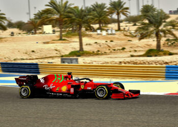 F1 Formula 1 Ferrari testing results bahrain day 2 saturday
