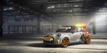 Formula E reveal new Mini Safety Car