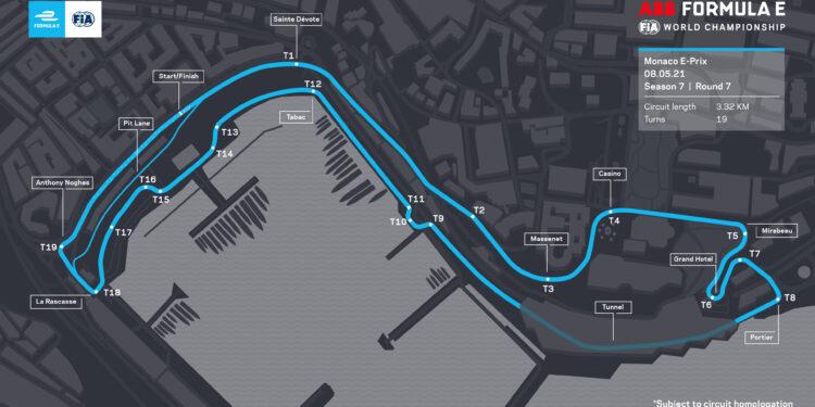 Formula E to race the full Monaco circuit