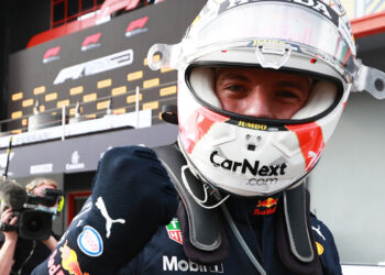 Verstappen very happy to win in challenging conditions