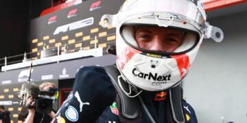 Verstappen very happy to win in challenging conditions