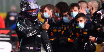 Hamilton: grateful to bring the car home after 'not the greatest of days'
