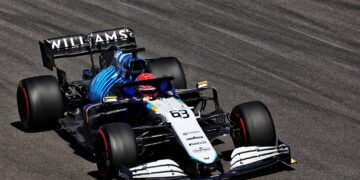 Russell 'proud' with P11, Williams' best since 2018