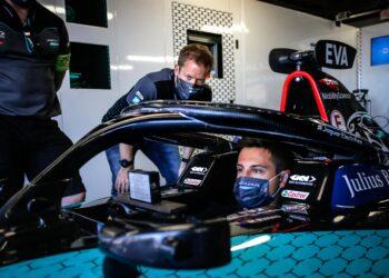 Evans fastest as Jaguar top both practice sessions
