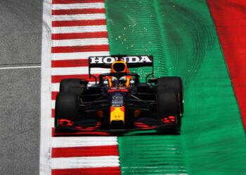 Verstappen on top in second Styrian GP practice