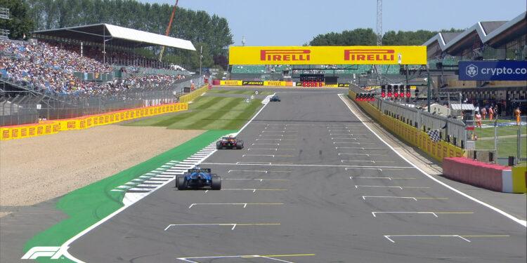 Sprint Qualifying Results – 2021 British Grand Prix