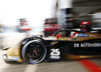 Vergne on pole as Techeetah lock out the front
