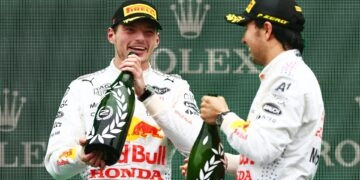 Verstappen: P2 on an off-pace weekend a great result